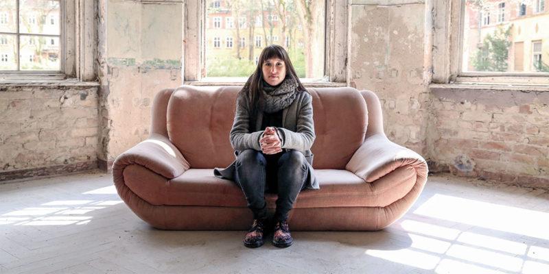 Mit Ada Dorian auf der Couch