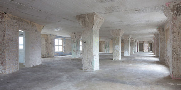 Warten auf neue Nutzung - Die leeren Hallen der Speicher Osnabrück